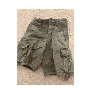 Toddler boy camo cargo shorts 3T